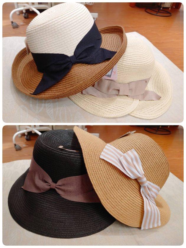 今ならお得!!夏の帽子